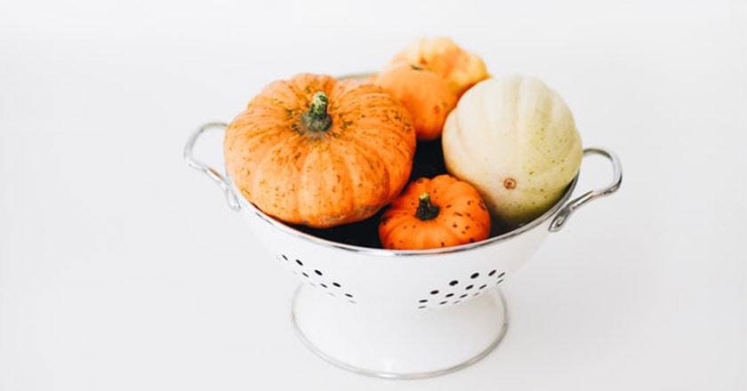 Nice orange pumpkin